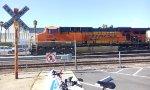 BNSF 5861 at K Street